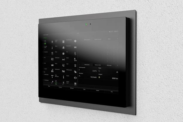 Adapterrahmen für Gira Control 9 Client 2