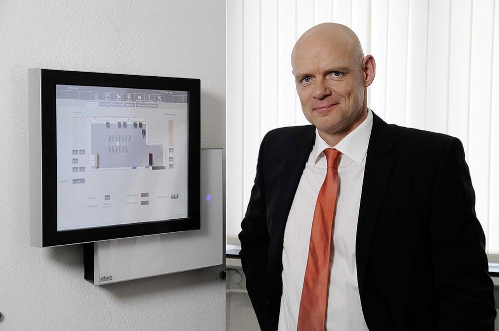 Dipl.-Ing. Michael Böck, geschäftsführender Gesellschafter der tci GmbH; Bild tci GmbH