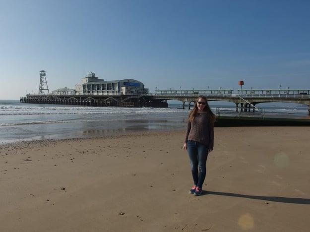 An der Küste in England: Internationale Projekte wie Erasmus+ waren Teil der Ausbildung. Bild: tci GmbH