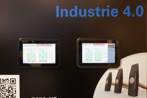 Industrie 4.0 ist ein großes Thema auf der Messe und bei tci. Bild tci GmbH