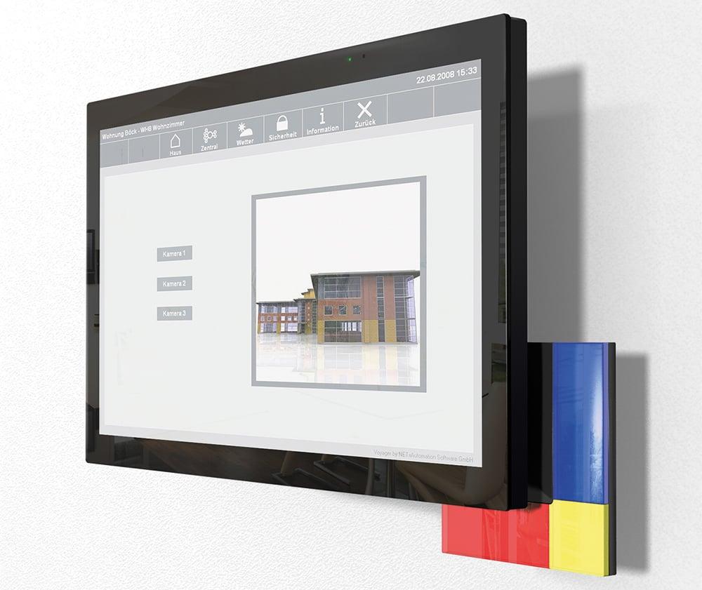 ambiento Design Touch – modern und zeitlos im Bauhaus-Design für Ihr Smart Home. Bild: tci ambiento