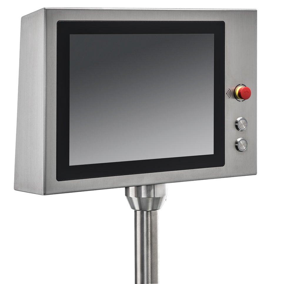 Die Industrie Computer H15ST und H19ST von tci sind mit integrierten RFID-Lesern ausgestattet. Bild: tci GmbH