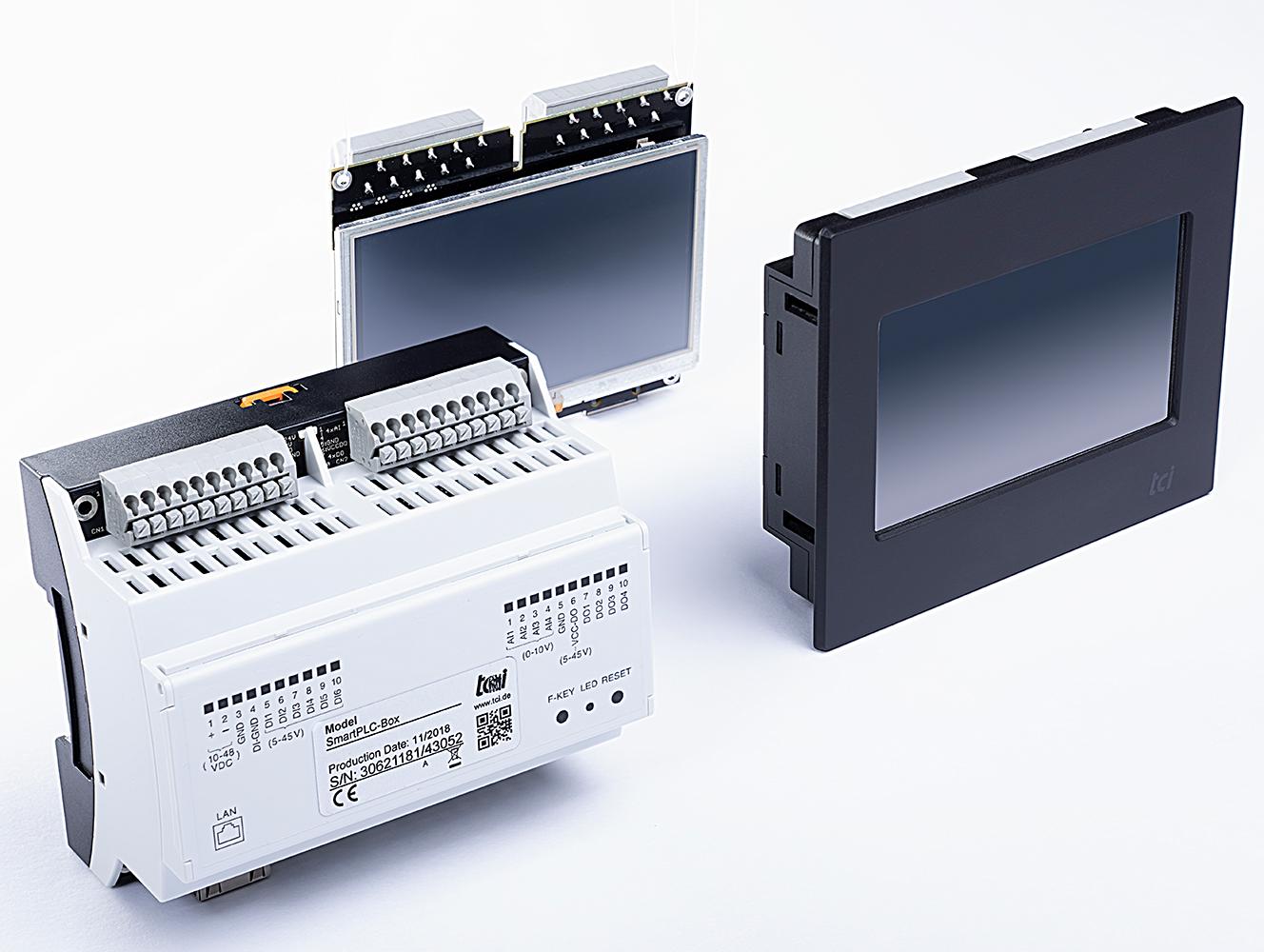 Industrie 4.0: In drei Bauformen ist die neue SmartPLC einsetzbar. Bild: tci GmbH