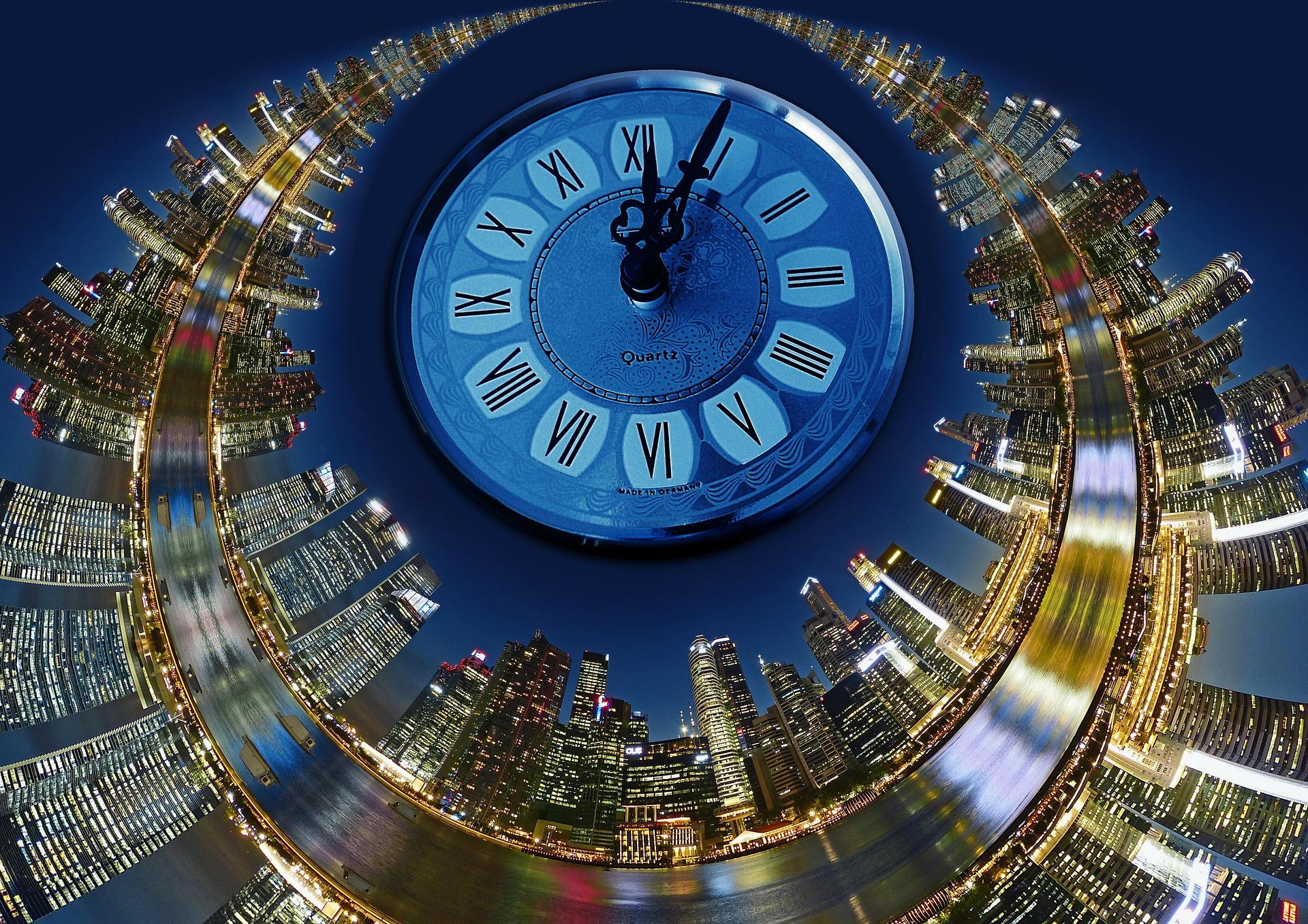"""""""Warten wir noch fünf Minuten"""" – warum auf die Unpünktlichen warten? Bildquelle: pixabay/geralt"""