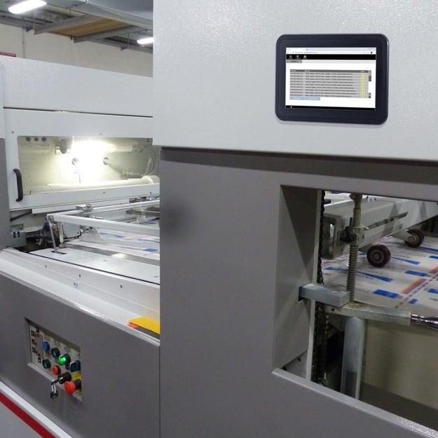 E10A Touch Panel zur Maschinen Bedienung