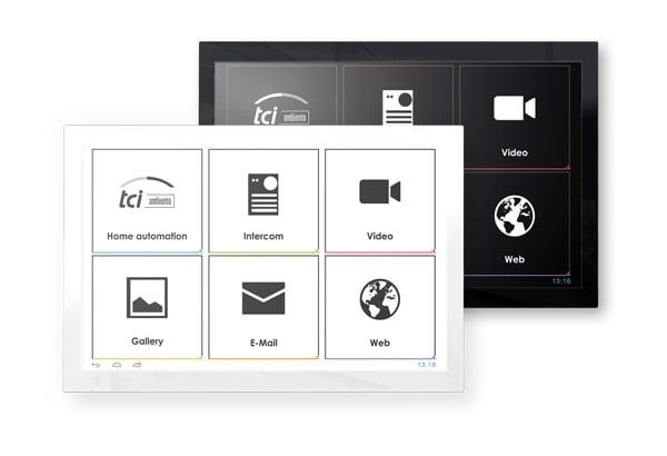 Android-Touchpanels luna. Bild: tci GmbH