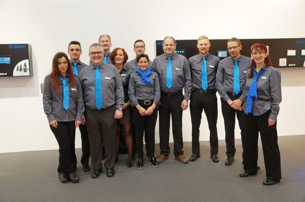 Das tci-Team freut sich auf Ihren Besuch. Bild: tci GmbH