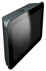 Kompaktes SPS-Bedienterminal G07T-XS mit 7-Zoll-Display.