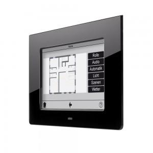 Ist das Smart Home mit einem Touchpanel ausgestattet, kann der Brandalarm auch hier ausgelöst werden. Bild : tci GmbH