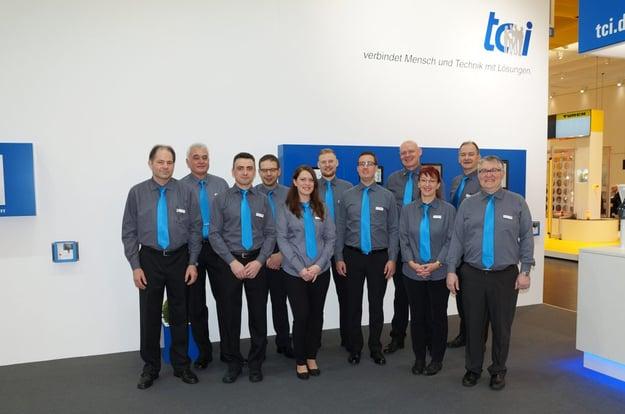 Das Team von tci freut sich auf Ihren besuch. Bild: tci GmbH
