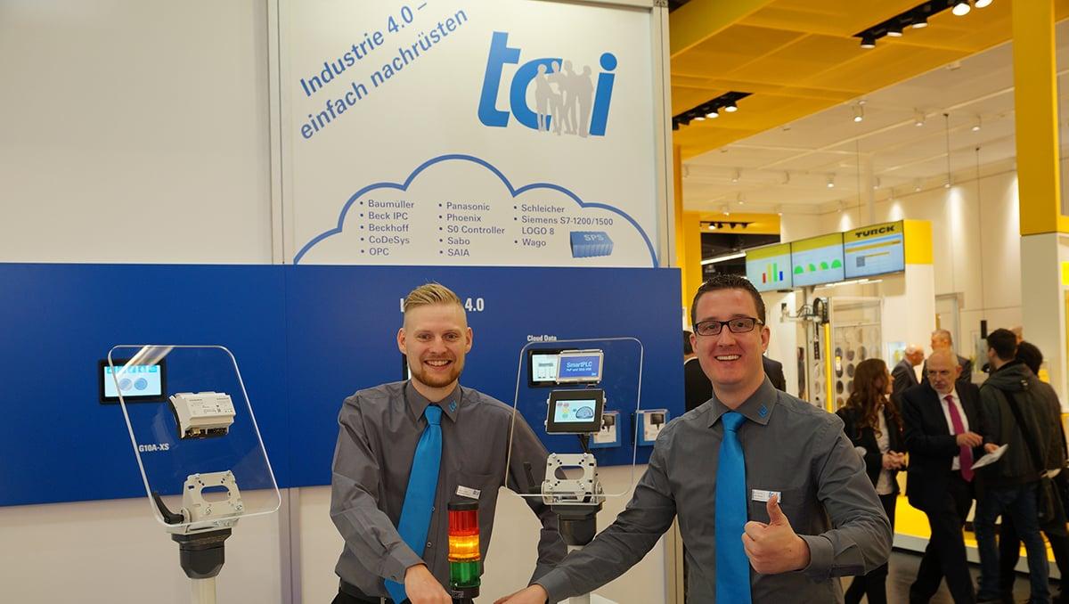 Ohne zusätzliche Gateways: Industrie 4.0-Lösung mit SPS-Bedienpanels. Bild tci GmbH