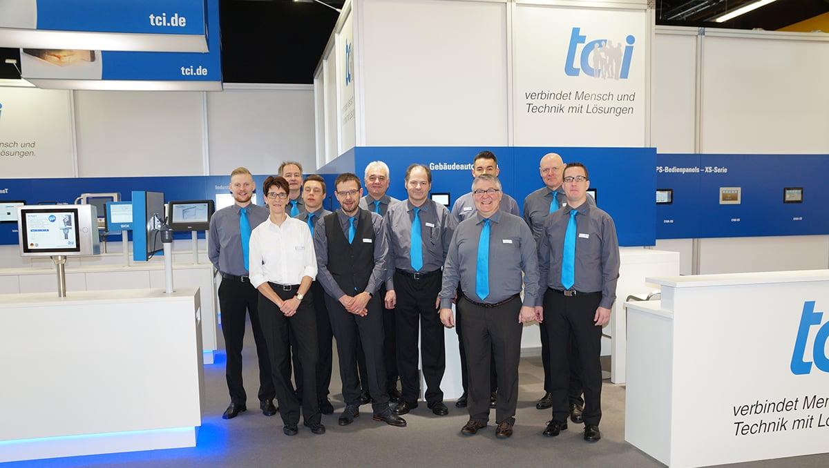 Das Team der tci GmbH freut sich auf Ihren Besuch.